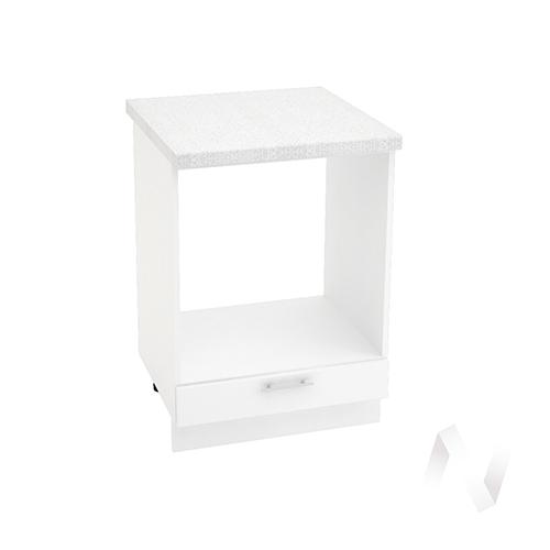 "Кухня ""Валерия-М"": Шкаф нижний под духовку 600, ШНД 600 (белый глянец/корпус белый)"