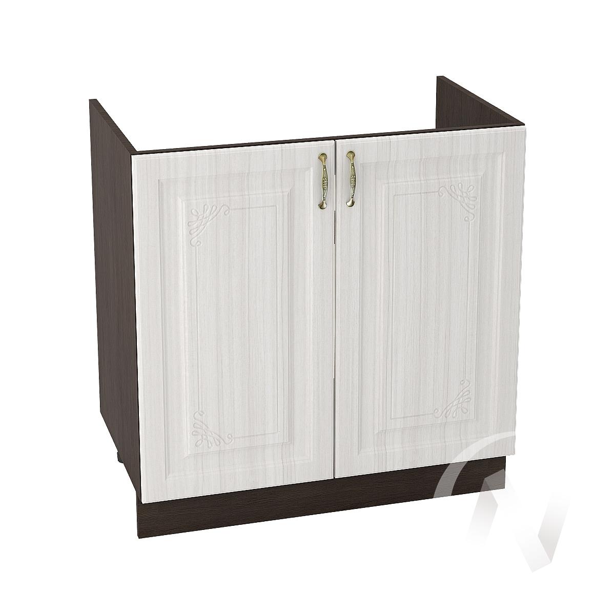 """Кухня """"Виктория"""": Шкаф нижний под мойку 800, ШНМ 800 (корпус венге)"""