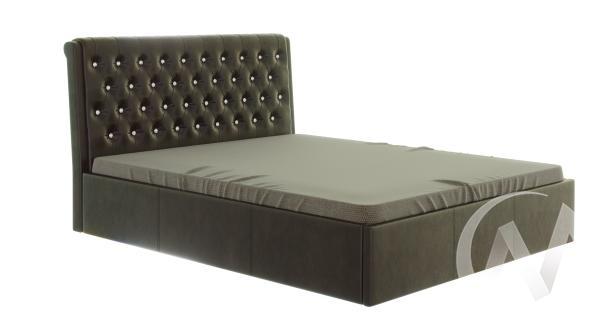 Кровать Прима 1,6 с подъемным механизмом (коричневый)