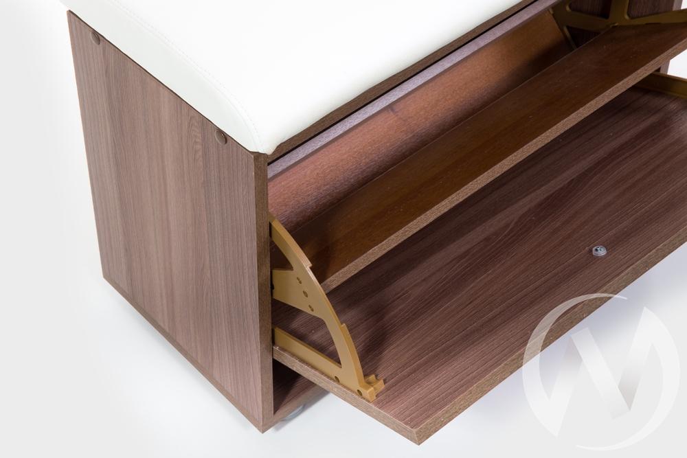 ОБУВНИЦА МС-1 (ШИМО ЯСЕНЬ ТЕМНЫЙ, БОРНЕО МИЛК)  в Томске — интернет магазин МИРА-мебель