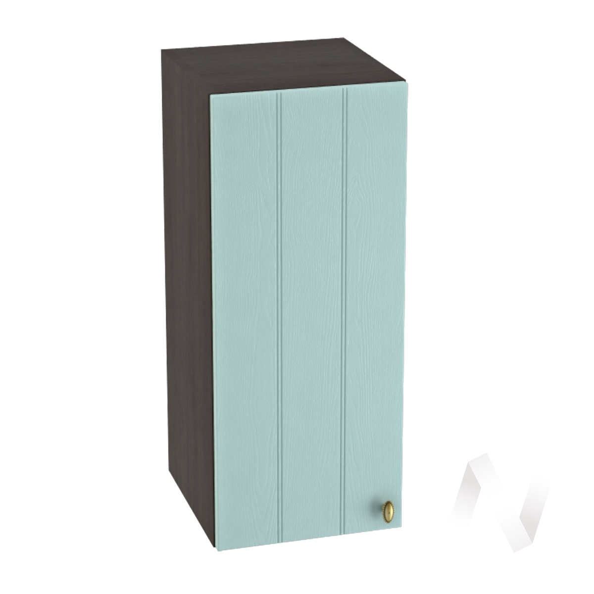 "Кухня ""Прованс"": Шкаф верхний 300, ШВ 300 (голубой/корпус венге)"