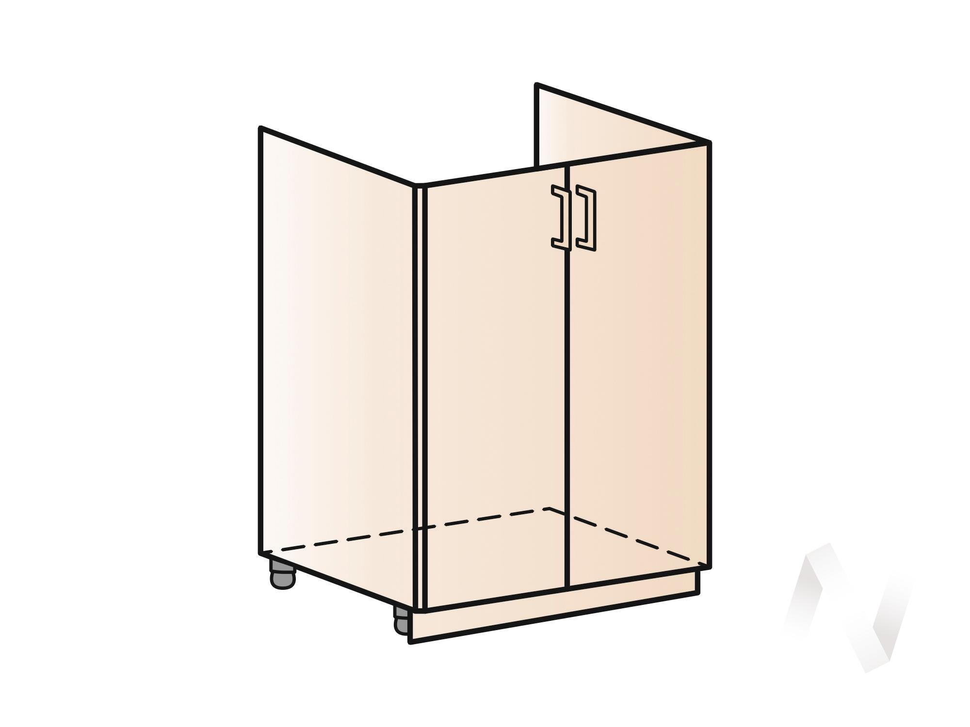 """Купить кухня """"вена"""": шкаф нижний под мойку 600, шнм 600 (корпус белый) в Новосибирске в интернет-магазине Мебель плюс Техника"""