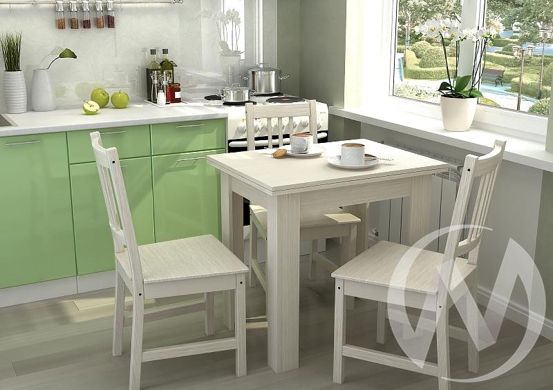 Стол кухонный раскладной (дуб белфорт)  в Томске — интернет магазин МИРА-мебель