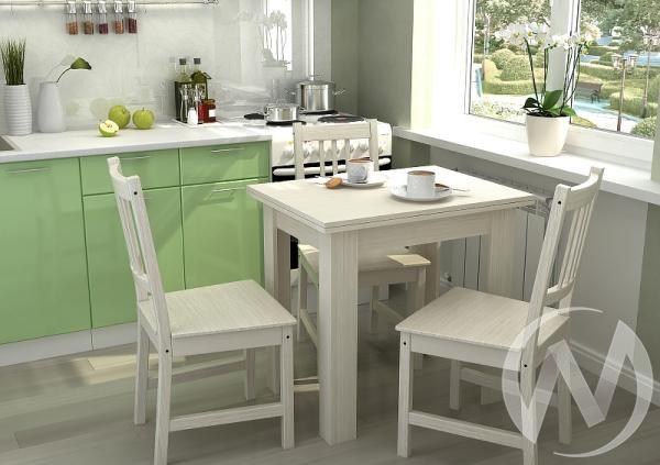 Стол кухонный раскладной (дуб белфорд)