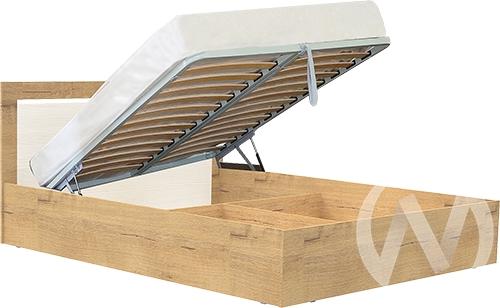 Светлана М17 Кровать 1,4 №1 с подъемным механихмом (дуб бунратти/бодега)