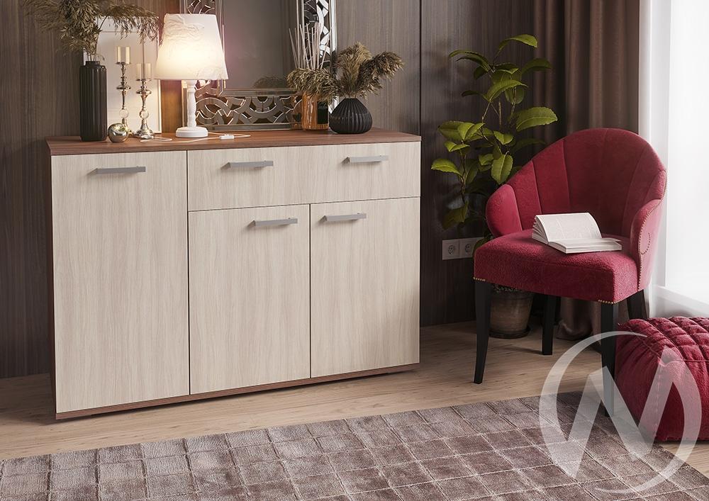 Комод №4 (К-4) (шимо темный/шимо светлый)  в Томске — интернет магазин МИРА-мебель
