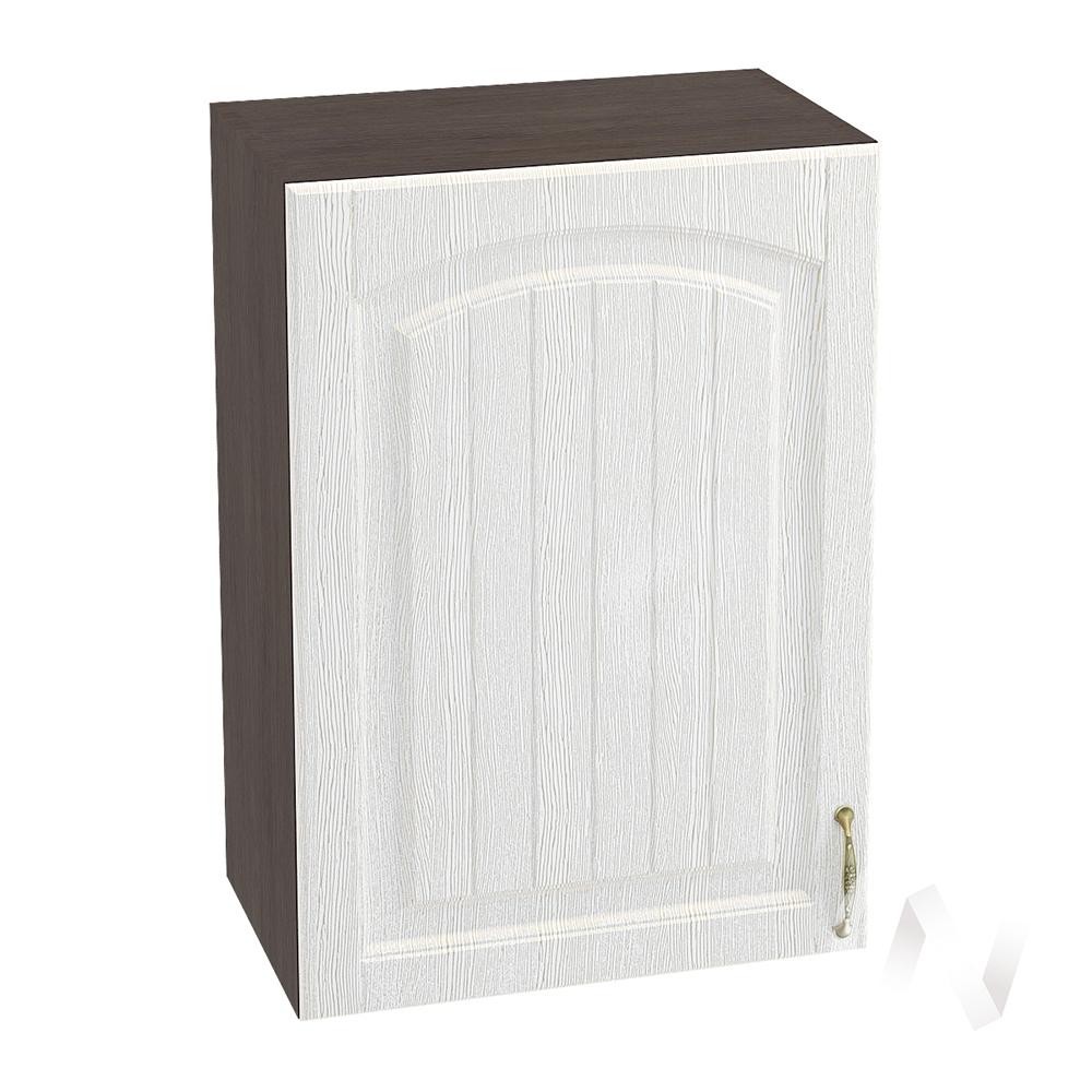 """Кухня """"Верона"""": Шкаф верхний 500 левый, ШВ 500 (ясень золотистый/корпус венге)"""