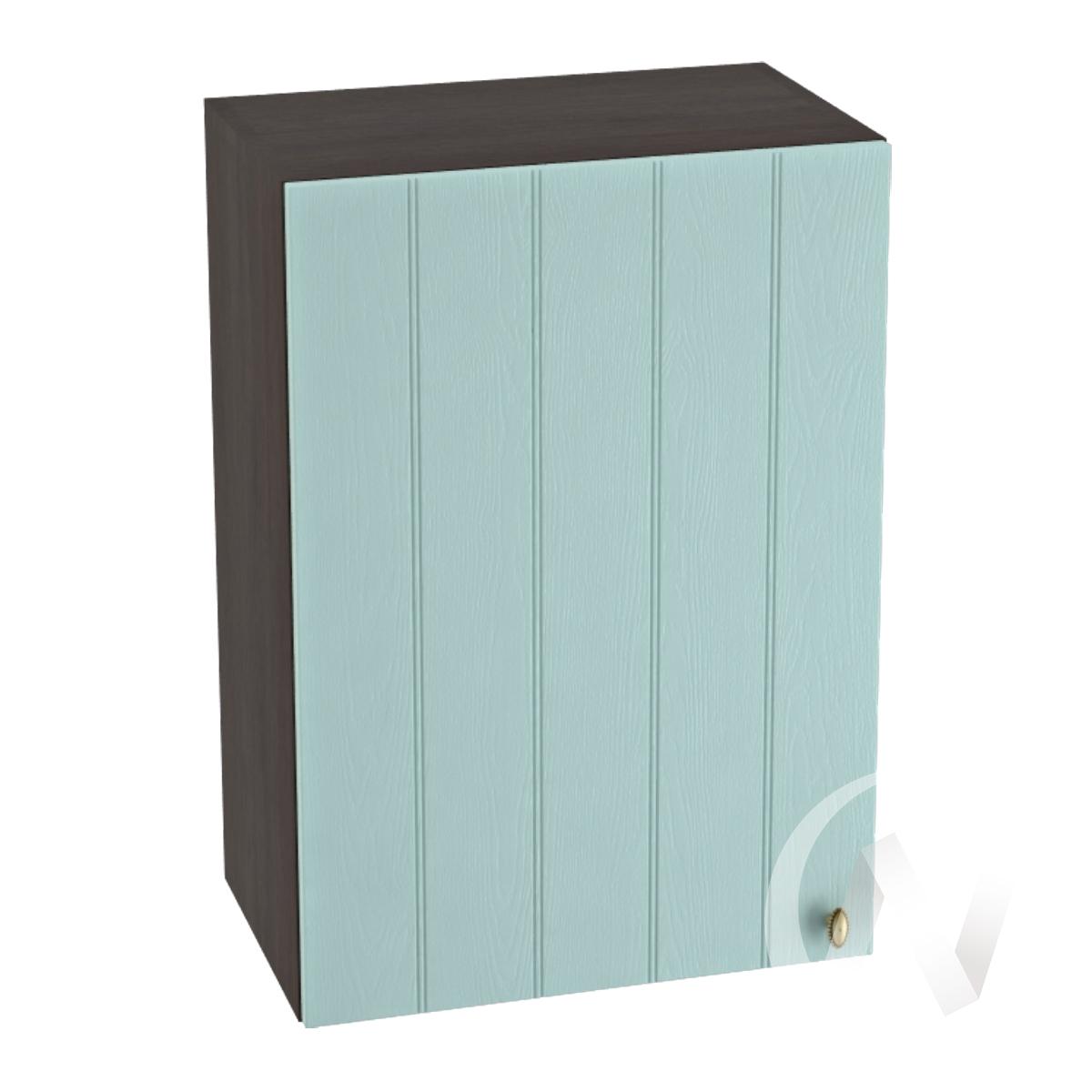 "Кухня ""Прованс"": Шкаф верхний 500, ШВ 500 (голубой/корпус венге)"