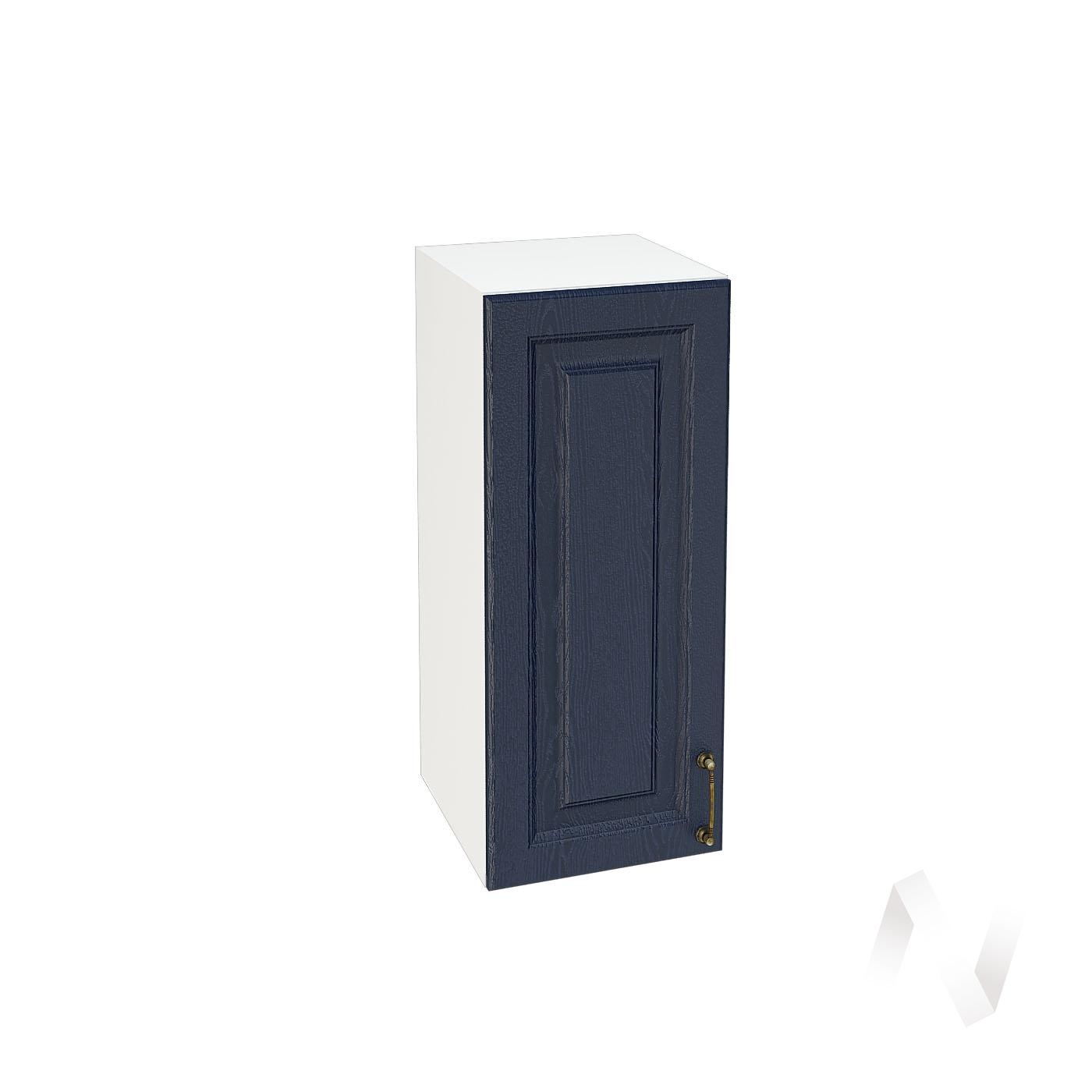 """Кухня """"Ницца"""": Шкаф верхний 300, ШВ 300 (Дуб чернильный/корпус белый)"""