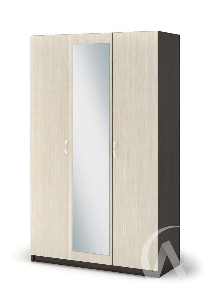 Шкаф 3-х створчатый ШК 553 Спальня Бася (венге/белфорт)
