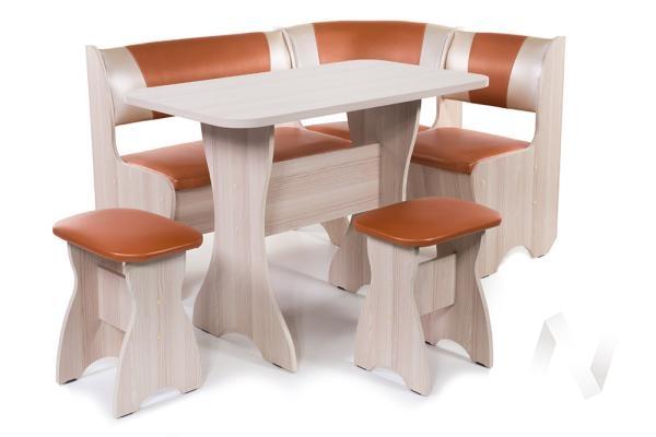 """Набор мебели для кухни """"Тюльпан"""" ясень С-120/С-101"""