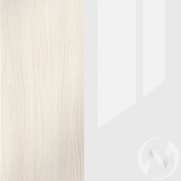 Кровать Симба (дуб белфорд/белый глянец)  в Томске — интернет магазин МИРА-мебель