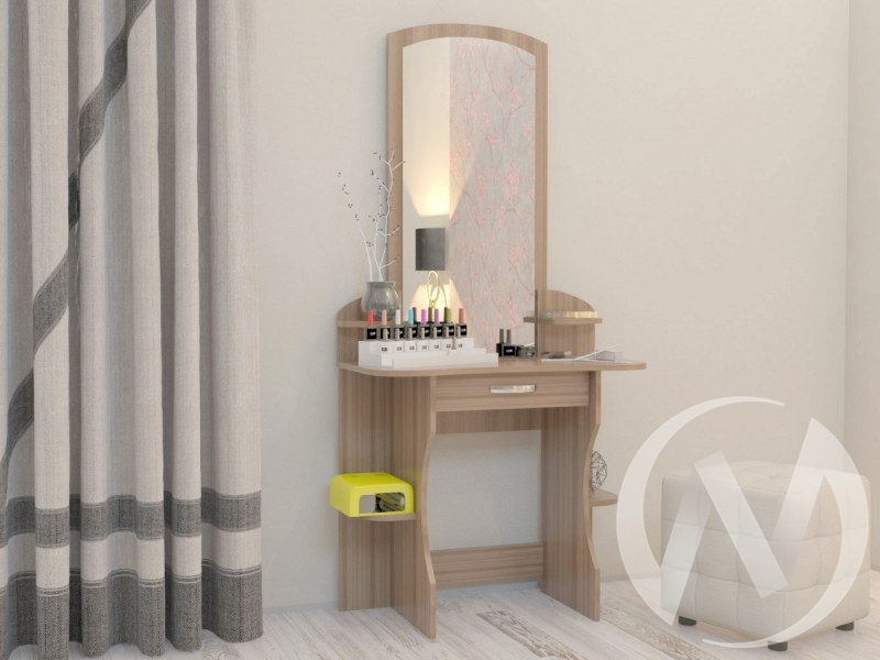 """Туалетный стол """"Дима"""" (шимо светлый) недорого в Томске — интернет-магазин авторской мебели Экостиль"""