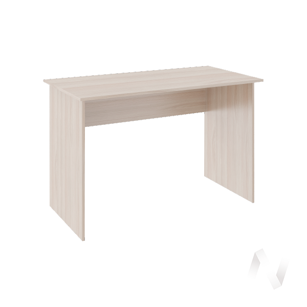 Стол прямой Walker М8 (ясень шимо светлый/белый)