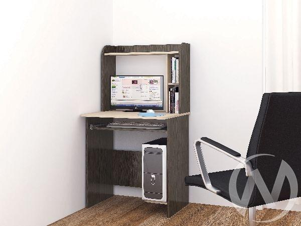 Стол компьютерный Грета-1 (венге/дуб молочный)