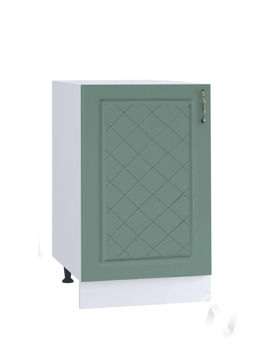 "Кухня ""Селена"": Шкаф нижний 450, ШН 450 (Дуб бирюзовый/корпус белый)"