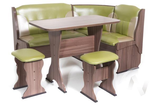 """Набор мебели для кухни """"Орхидея"""" шимо ясень темный С-105/С-101"""