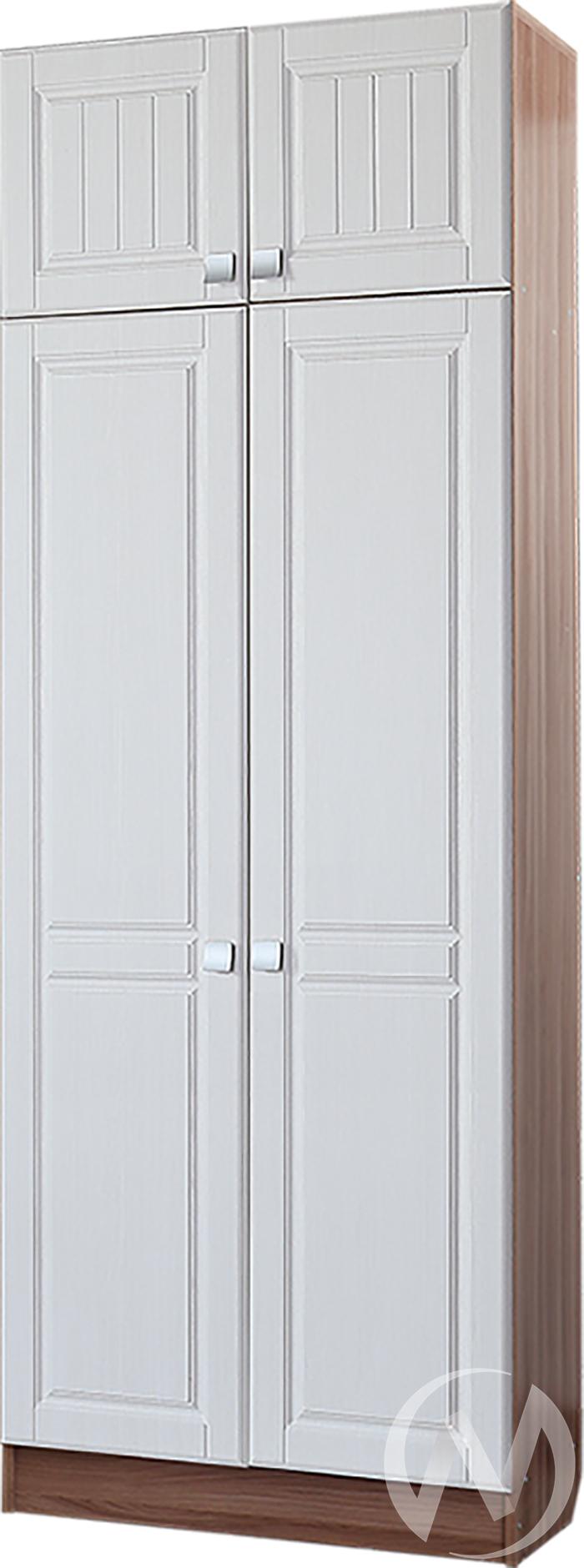 Шкаф 2х створчатый Прихожая Вега (ясень шимо темный-рельеф пастель)