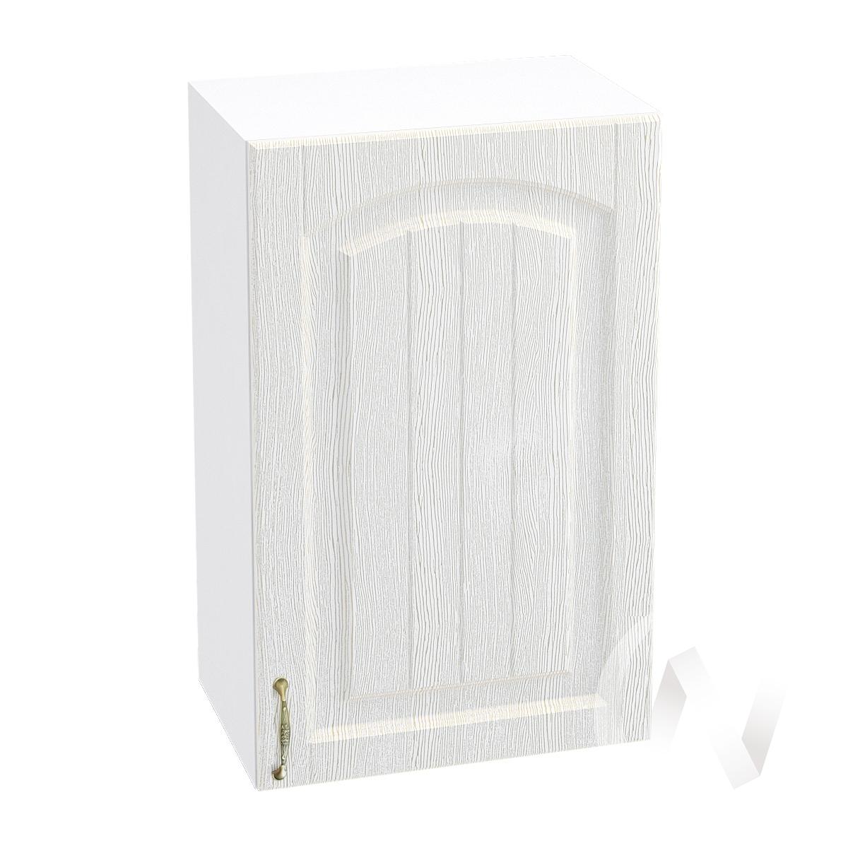 """Кухня """"Верона"""": Шкаф верхний 450 правый, ШВ 450 (ясень золотистый/корпус белый)"""