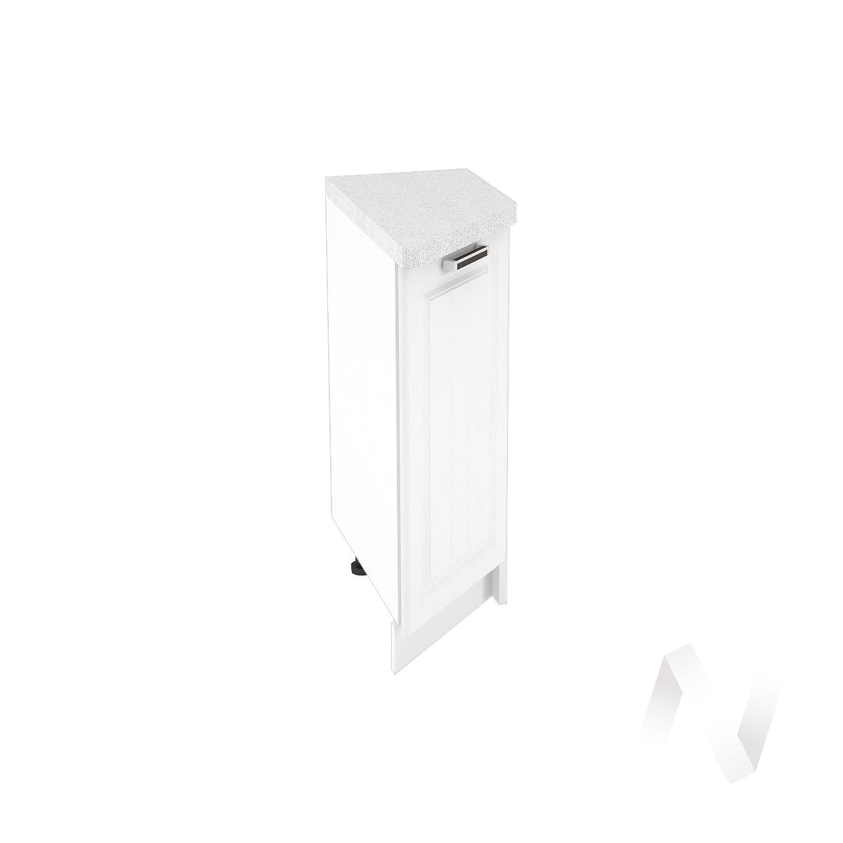 """Кухня """"Прага"""": Шкаф нижний торцевой 300, ШНТ 300 (белое дерево/корпус белый)"""