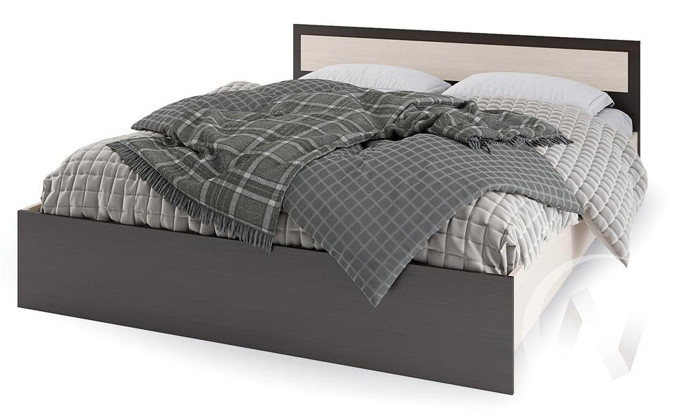 Кровать 1,2м КР 609 Спальня Гармония (венге/белфорт)