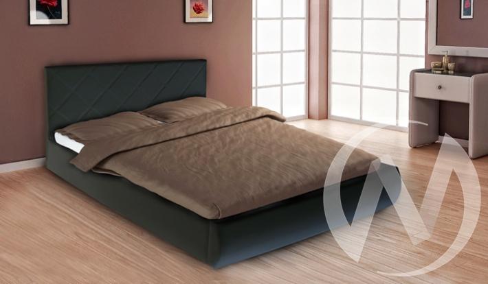 Кровать Эко 1,6 (черный)  в Томске — интернет магазин МИРА-мебель