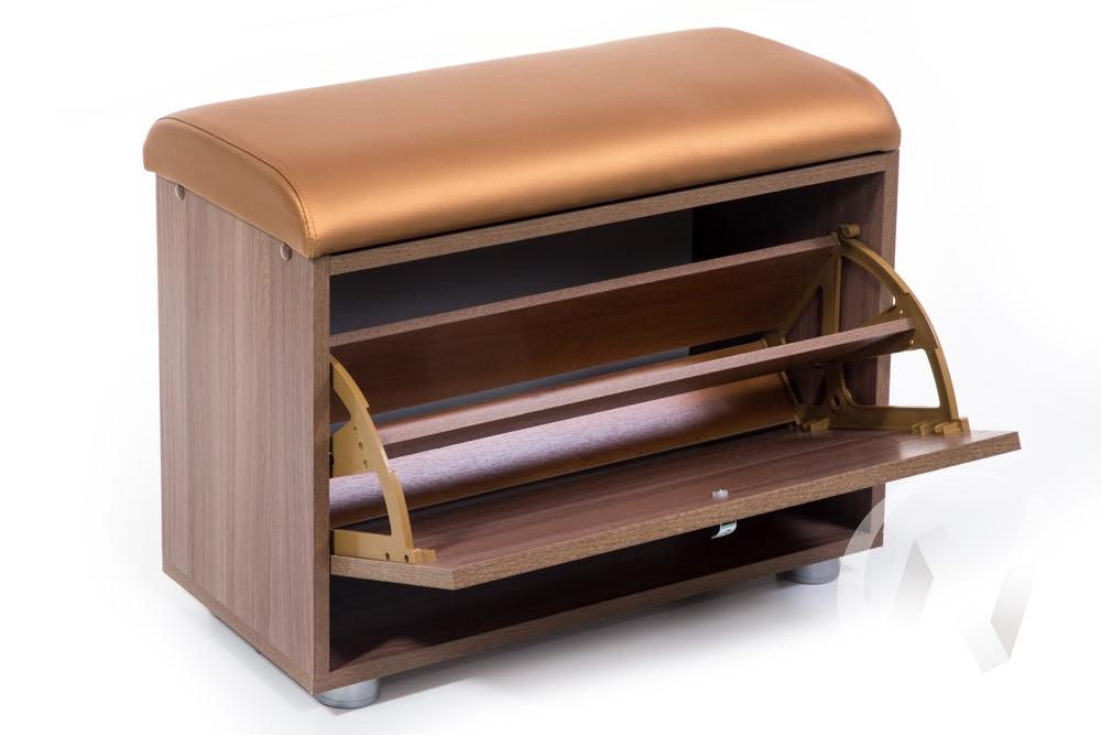 ОБУВНИЦА МС-1 (ШИМО ЯСЕНЬ ТЕМНЫЙ, С.-109)  в Томске — интернет магазин МИРА-мебель