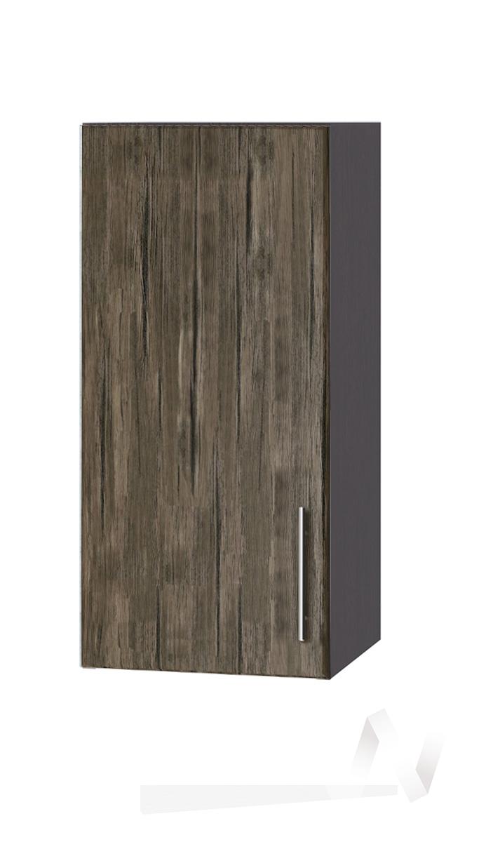 """Кухня """"Норден"""": Шкаф верхний 300, ШВ 300 (старое дерево/корпус венге)"""