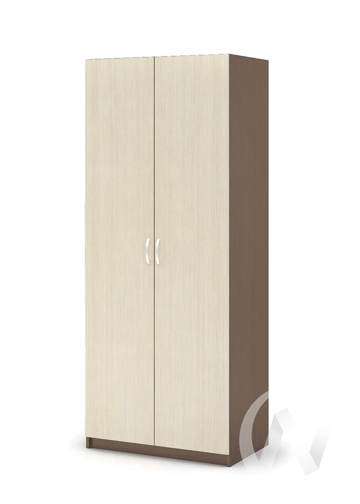 Шкаф с перегородкой ШК 556 Спальня Бася (шимо темный/шимо светлый)
