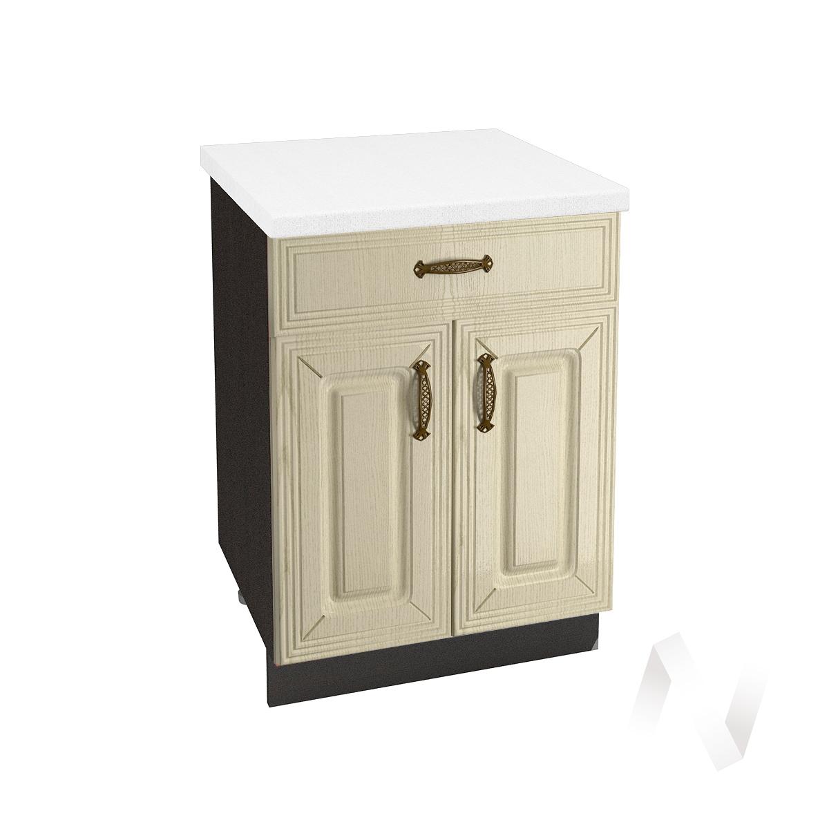"""Кухня """"Изабель"""": Шкаф нижний с ящиком 600, ШН1Я 600 М (корпус венге)"""