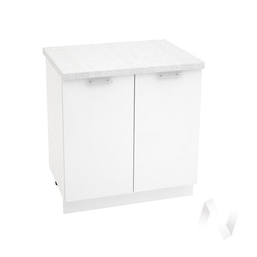 "Кухня ""Валерия-М"": Шкаф нижний 800, ШН 800 (белый глянец/корпус белый)"