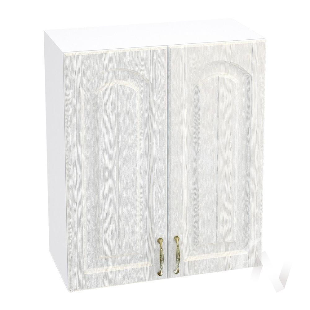 """Кухня """"Верона"""": Шкаф верхний 600, ШВ 600 (ясень золотистый/корпус белый)"""