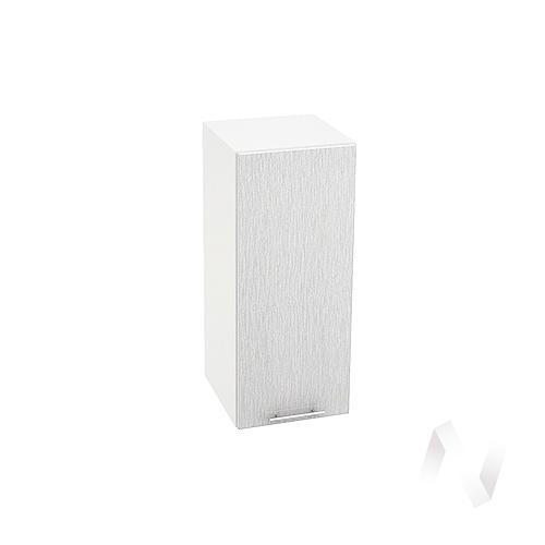 "Кухня ""Валерия-М"": Шкаф верхний 300, ШВ 300 (дождь серый/корпус белый)"