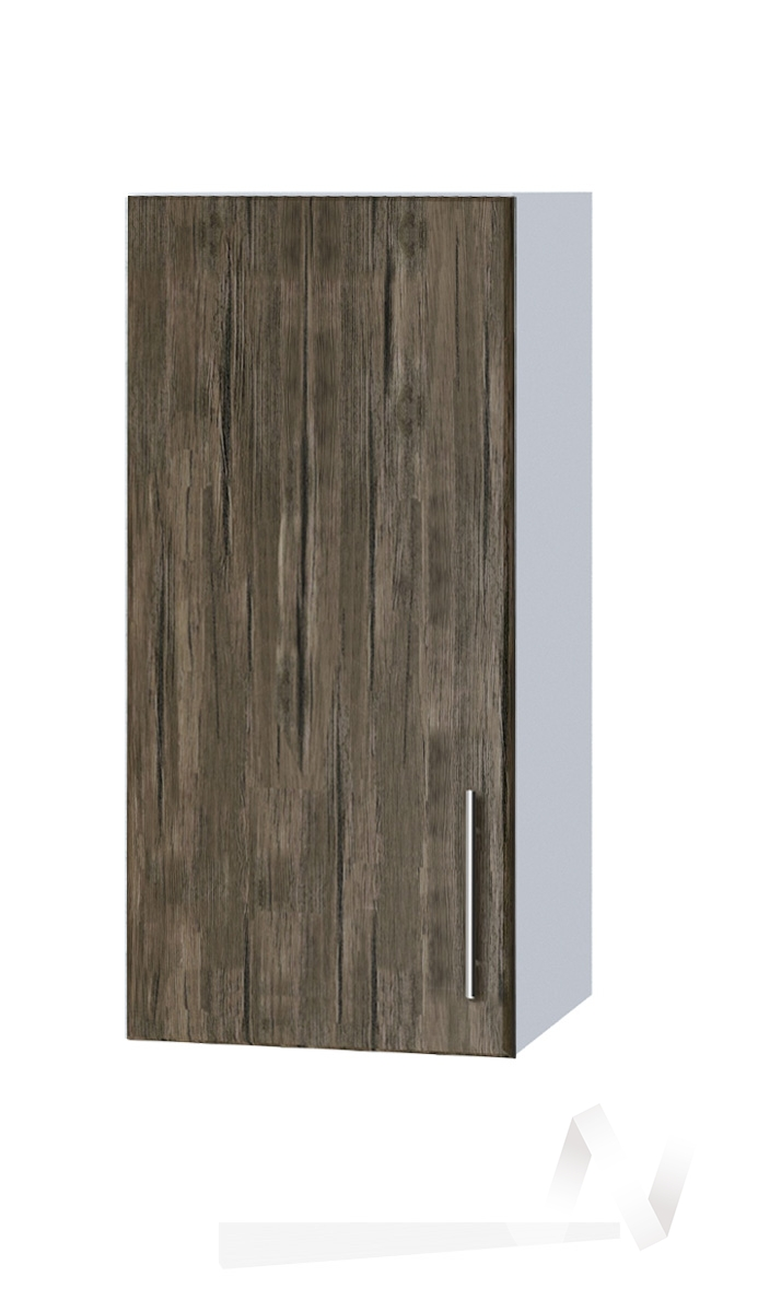 "Кухня ""Норден"": Шкаф верхний 300, ШВ 300 (старое дерево/корпус белый)"