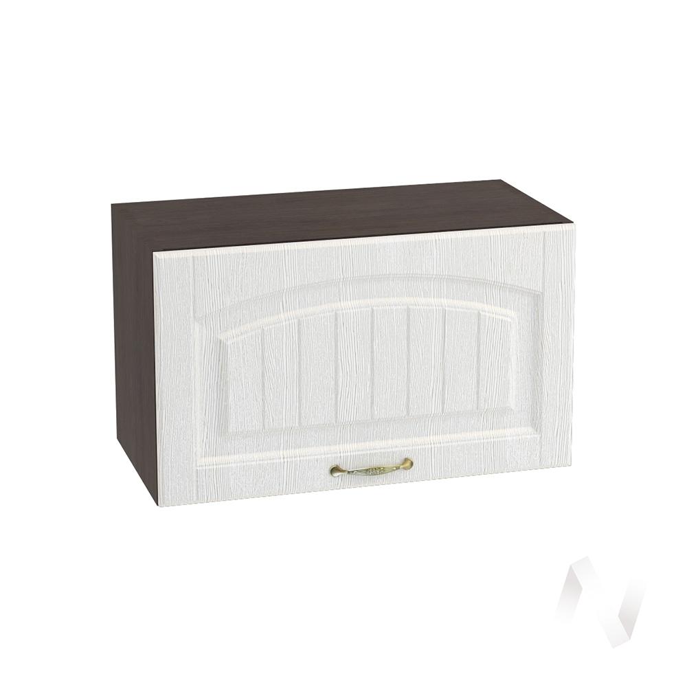 """Кухня """"Верона"""": Шкаф верхний горизонтальный 600, ШВГ 600 (ясень золотистый/корпус венге)"""
