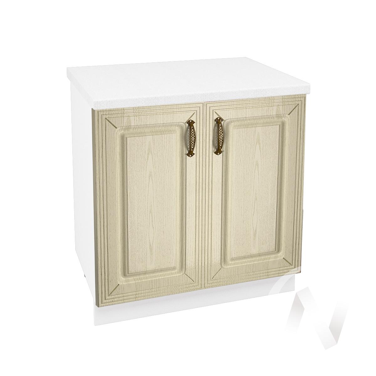 "Кухня ""Изабель"": Шкаф нижний 800, ШН 800 (корпус белый)"