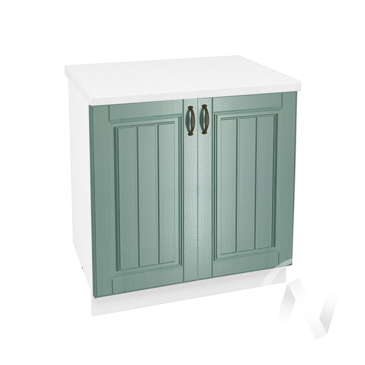 """Кухня """"Прованс"""": Шкаф нижний 800, ШН 800 (корпус белый)"""