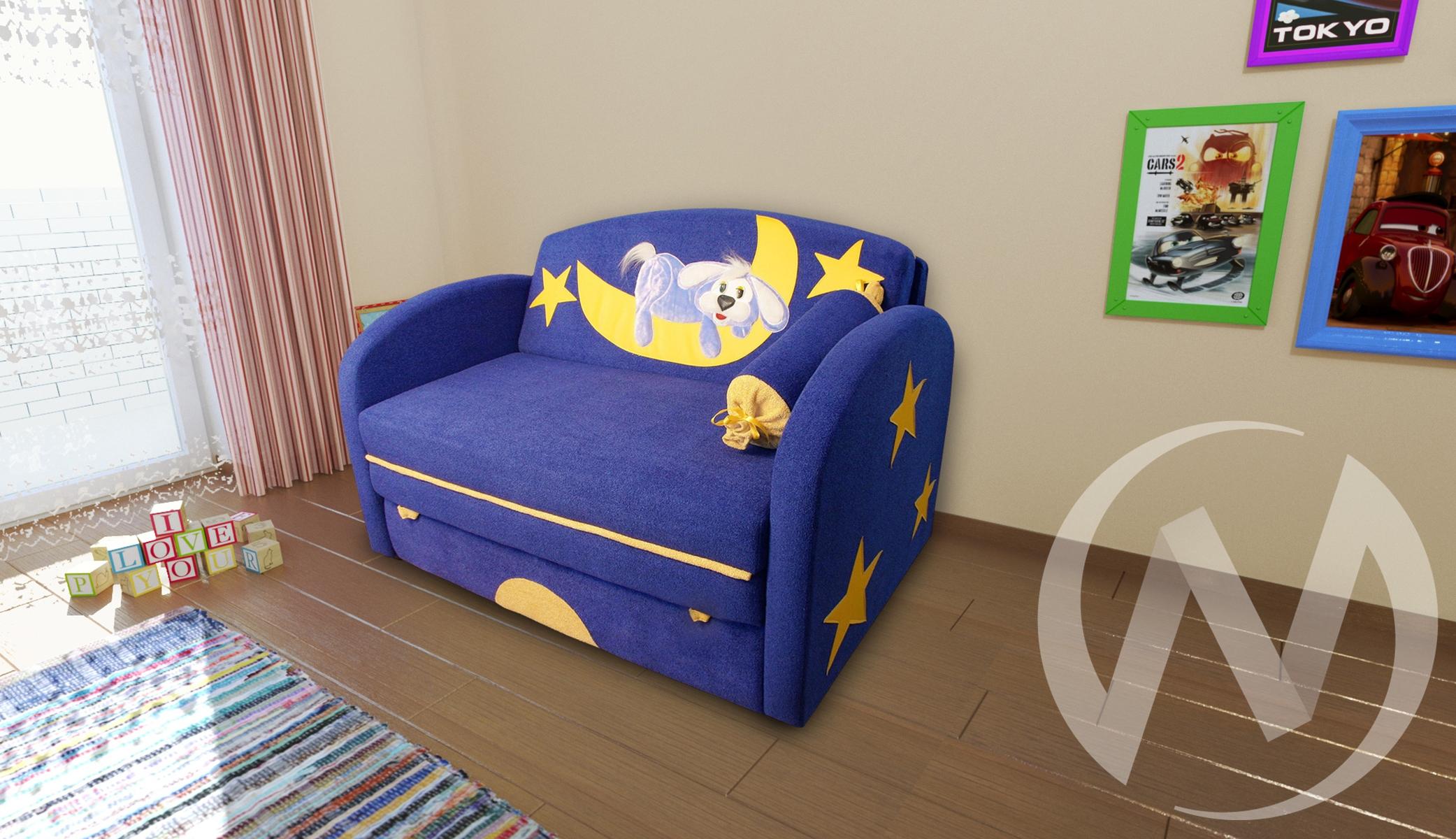 Соня диван детский  в Томске — интернет магазин МИРА-мебель