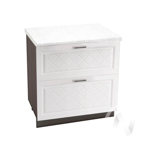 "Кухня ""Вена"": Шкаф нижний с 2-мя ящиками 800, ШН2Я 800 (корпус венге)"