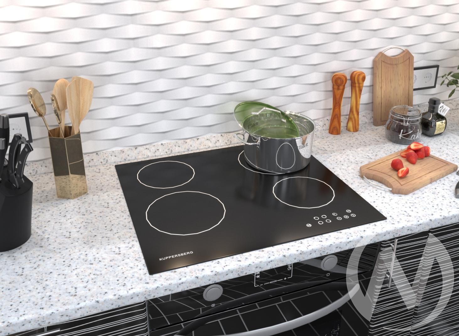 Электрическая варочная поверхность ECO 601 черный недорого в Томске — интернет-магазин авторской мебели Экостиль