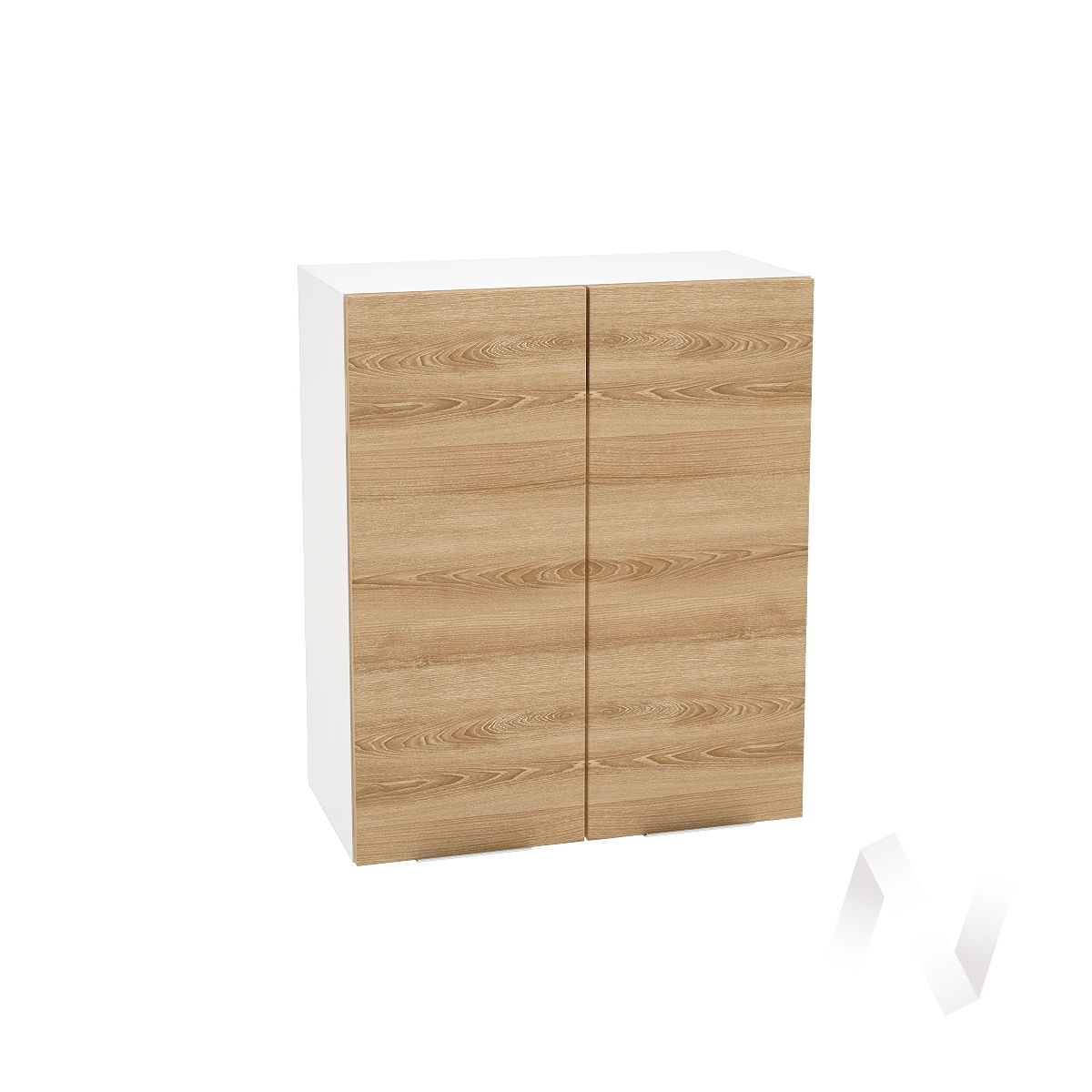 """Кухня """"Терра"""": Шкаф верхний 600, ШВ 600 (ель карпатская/корпус белый)"""