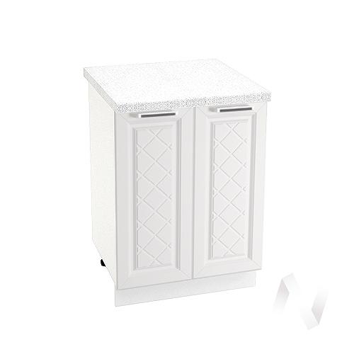 "Кухня ""Вена"": Шкаф нижний 600, ШН 600 (корпус белый)"
