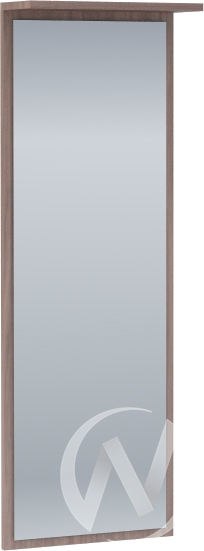 Зеркало настенное Машенька (ясень шимо темный) ЗР-100