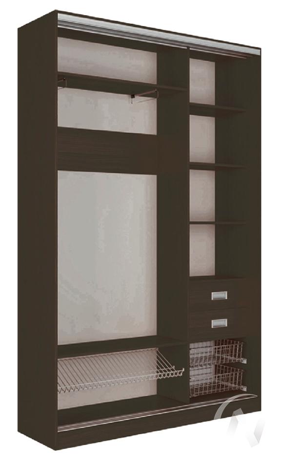 Шкаф-купе «Джонни» 2-х дверный глухой (ясень шимо тёмный/ясень шимо тёмный)  в Томске — интернет магазин МИРА-мебель