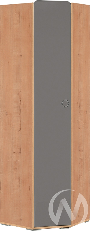 Скай М7 Шкаф угловой левый (дуб бунратти/графит)