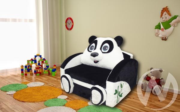 Панда диван детский