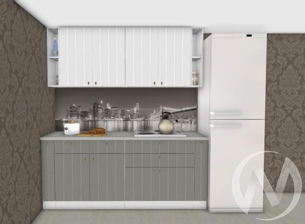 Кухня Прованс серый/белое дерево 1,9№1