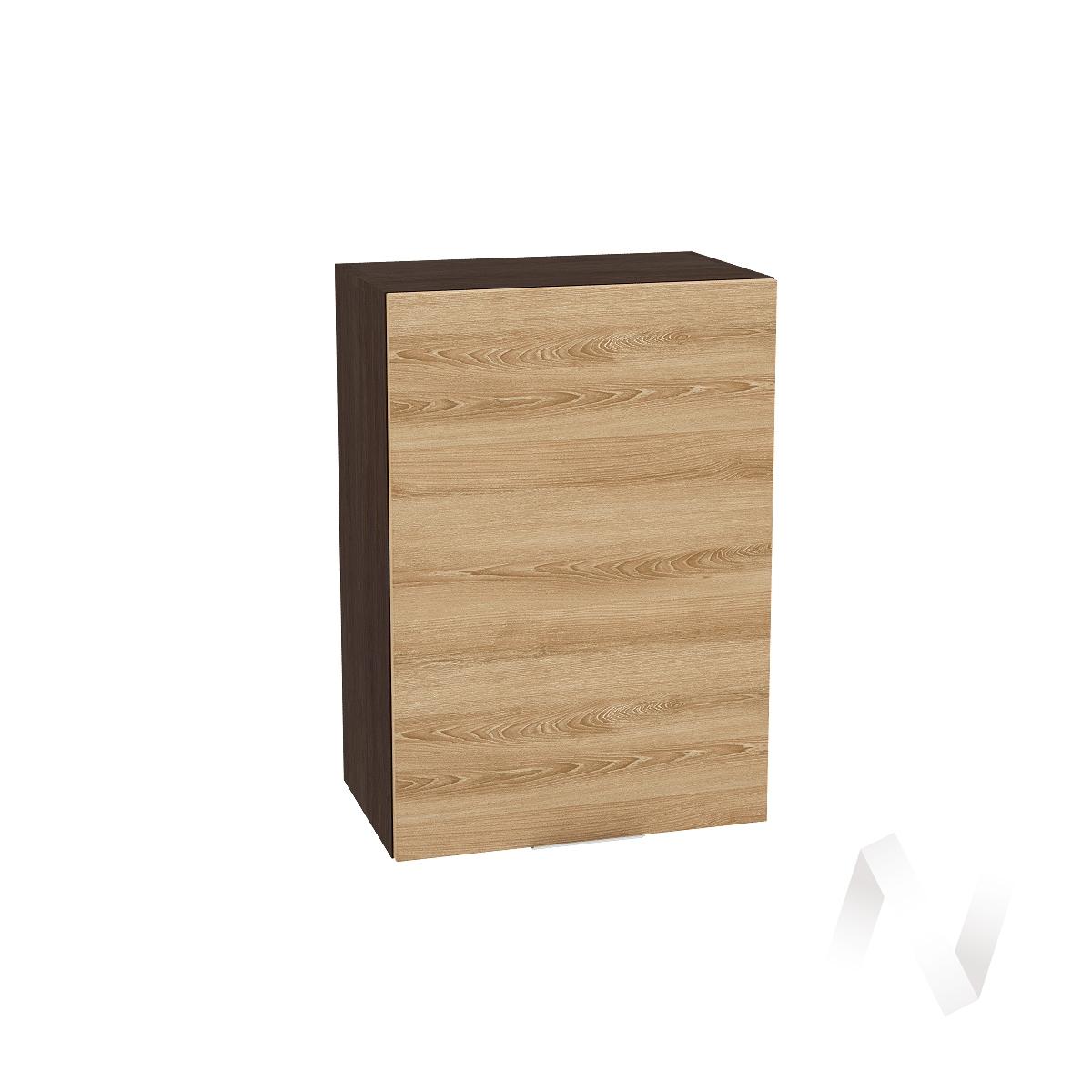 """Кухня """"Терра"""": Шкаф верхний 500, ШВ 500 (ель карпатская/корпус венге)"""