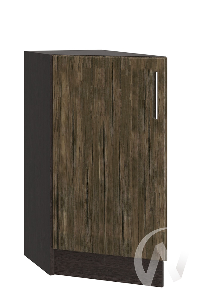 """Кухня """"Норден"""": Шкаф нижний торцевой 300, ШНТ 300 (старое дерево/корпус венге)"""