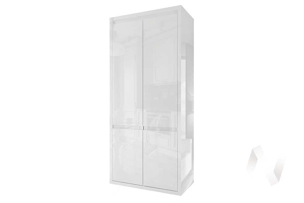 Шкаф 2-х дверный СТЛ.321.09 Норден (Белый)